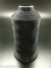 8oz Spool Black #92 2100 Yards Bonded Nylon Sewing Thread T90 Fabric N53