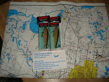 2 RAPALA F-7 GOLD ORIGINAL FLOATING FISHING LURES NEW IN BOXES