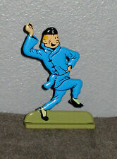 COLLECTION ATLAS ARCHIVES TINTIN LOTUS BLEU FIGURINE A PLAT   ( 5,5 cm )