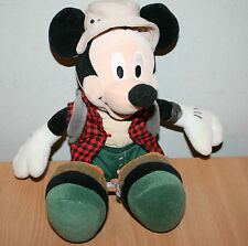 HIKING MICKEY MOUSE Disney Original Walker Rambler Soft Toy Boots Rucksack Hat
