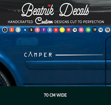 Camper Van Side Stripe Sticker Decal Graphic VW T4,T5,T6 Bongo All Vans Vinyl
