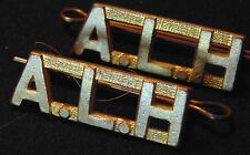 Canada Armed Forces military ALH Alberta Light Horse brass shoulder Titles