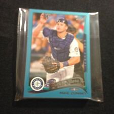 2014 TOPPS #1 SEATTLE MARINERS *WAL-MART BLUE* TEAM SET 14 CARDS  MIKE ZUNINO