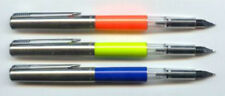 3 PARKER DEMONSTRATOR FOUNTAIN PENS RARE COLORS  NEW