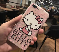 Hello Kitty Cartoon Cat Silicon Case Cover For iPhone 6/6S Plus iPhone7 Plus
