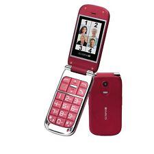 Olympia Becco plus, rouge pliante seniors téléphone mobile & grandes touches & Bureau
