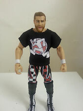 "WWE NXT Custom Sami Zayn ""Worlds Apart"" Mattel Figure Shirt Accessory"