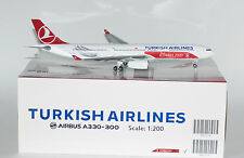 "JC Wings XX2629 Airbus A330-343X Turkish Airlines ""Istanbul 2020"" TC-JNI  1:200"
