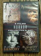 4 Films Horror Collector's Set DVD Bloody Mary, Memory, Mortuary, Wages of Sin