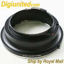 AF confirm Mamiya 645 M645 lens to Canon EOS EF mount adapter 7D 60D 550D 600D