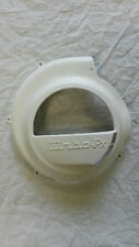 Vespa PX PE LML 80's Turbo Cooling Flywheel Cover...White. NEW!!