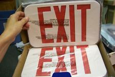 new Compass CER Hubbell Lighting LED Emergency Exit Sign