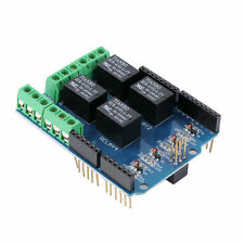 4 Channel 5V Relay Module Board Shield For PIC AVR DSP ARM MCU Arduino RT - UK