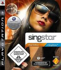 Playstation 3 Singstar POP EDITION * BRANDNEU