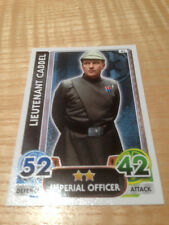 STAR WARS Force Awakens - Force Attax Trading Card #041 Lieutenant Cabbel
