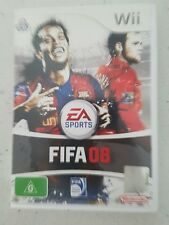 FIFA 08 NINTENDO WII GAME - Complete- Fast Free Post!