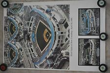 Vintage Chicago White Sox Park Comiskey Field Poster First Game Final Game