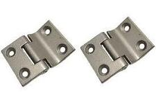 VW Camper T2 Bay / Split Engine Lid Hinges x 2 New 261-829-551 Bus Van Type 2