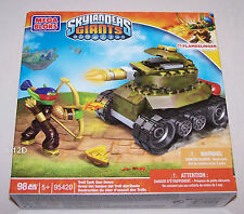 Skylanders Giants Mega Bloks Blocks 95420 Troll Tank Gun Down New
