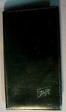 Vintage SCHLITZ BEER Amity Cowhide PHOTO ALBUM BLACK BOOK Matchbook Advertising