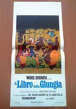 IL LIBRO DELLA GIUNGLA locandina poster The Jungle Book Animazione Walt Disney