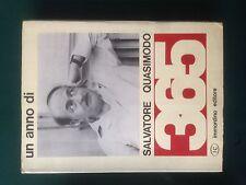 UN ANNO DI SALVATORE QUASIMODO, Immordino, 1968