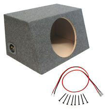 "Sealed 10"" Car Audio Hatch Subwoofer Enclosure Stereo Bass Speaker Sub Box New"