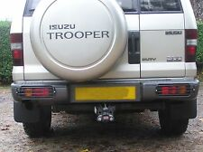 ISUZU TROOPER MK2/3/4 REAR BUMPER LIGHT GUARDS