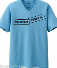 LAWRENCE WEINER x UNIQLO 'WHEN IN DOUBT...' SPRZ NY Art T-Shirt L Blue ***NWT***