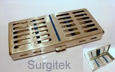 Sterilization Sterilizing Casette Cassette Rack for7 Dental Surgical Instruments