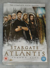 Stargate Atlantis Season 5 Five Complete DVD Set - BRAND NEW UK + BONUS DISC