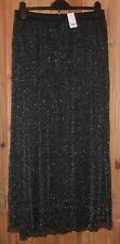 BRAND NEW WITH TAGS GLITTERY MAXI SKIRT SIZE 26 (COST £35)