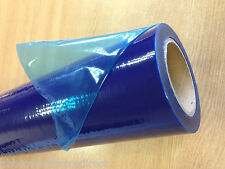 Self Adhesive Blue Window Film - Protection / Cover - 500mm x 100 meter