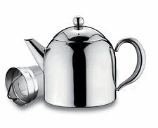 Belmont Stainless Steel 1.5L 50oz Tea Pot With Infuser Non Drip Dishwasher Safe