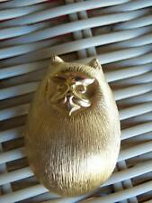 VINTAGE  PAQUETTE FAT CAT BROOCH PIN