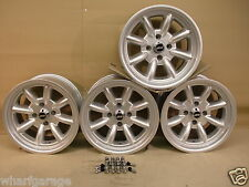 ESCORT CAPRI CORTINA 8X15 DEEP DISH ALLOY WHEEL SET JBW MINILIGHT STYLE, FORD
