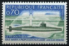 France 1969 SG#1849, 1st French Nuclear Submarine MNH #D43426