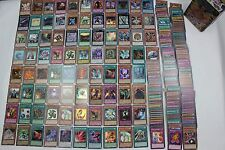 Yugioh Collection Kit Binder + Ultra Pro Pages + 150 Commons + 30 Rares and more