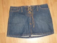 ABERCROMBIE & FITCH LEATHER LACE SKIRT SIZE 2