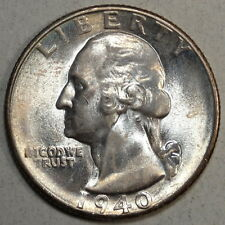 1940-S Washington Quarter, Choice to Gem Uncirculated, Nice Color  1029-13