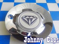 AZEV UNKNOWN Wheels [41] CHROME Center Caps # N/A Custom Wheel Center Cap (1)