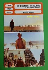 Spaghetti Western My Name Is Nobody Henry Fonda French Film Trade Card