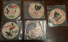 5 x Rare Guinness Beer Mats unused