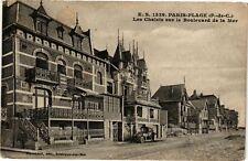 CPA Paris-Plage - Les Chalets sur le Boulevard de la Mer (163807)