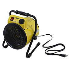 King PSH1215T 1500W 120V Portable Utility Yellow Jacket Mini Electric Heater
