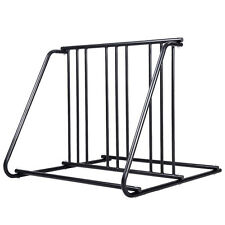 1-6 Bikes Floor Mount Bicycle Park Storage Parking Rack Stand HD Steel 2/3/4/5