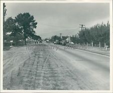 Arizona Strip Highway Death Strip Utah 1948 Original News Service Photo