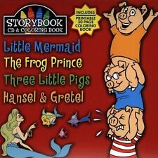 FREE US SH (int'l sh=$0-$3) USED,MINT CD Storybook: Little Mermaid Frog Prince T