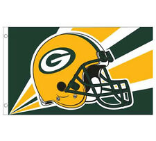 NEW 3x5ft GREEN BAY PACKERS H BANNER FLAG