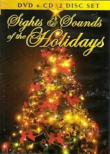 SIGHTS & SOUNDS OF THE HOLIDAYS: VIRTUAL CHRISTMAS SCENES & MUSIC DVD + CD COMBO